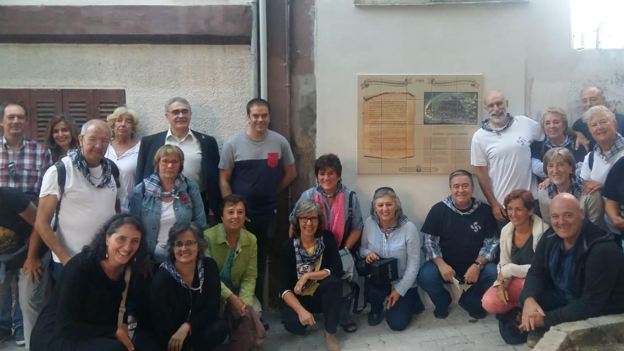 Mural Fundacion 1299 Plentzia